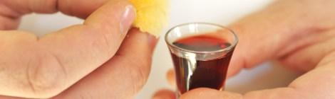 hands-bread-wine-stock